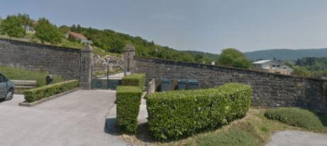 Travaux cimetière de Thise