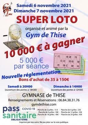 Super Loto de la Gym de Thise
